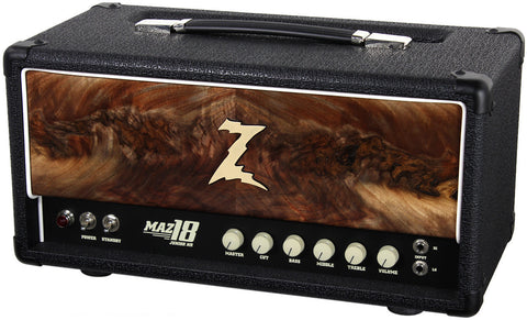 Dr. Z Maz 18 Jr NR Head - Custom Burl Walnut #6