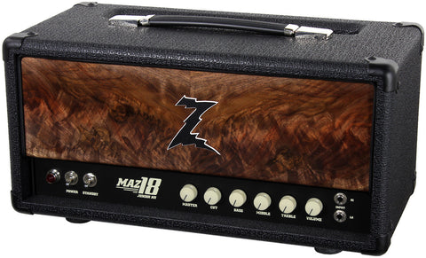 Dr. Z Maz 18 Jr NR Head - Custom Burl Walnut #8