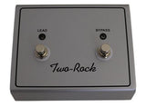 Two-Rock Silver Sterling Signature 100/50 Head, Black Suede, Diamond Grille