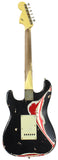 "Nash S-67 Guitar, ""Jawbreaker"" Black/ Olympic White/ Candy Apple Red"