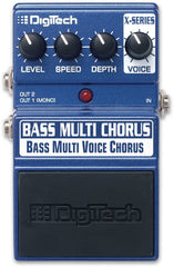 Digitech XBC Bass Multi Voice Chorus Pedal