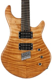 American Exotic Guitars DC-Multi, Flamed Redwood and Walnut