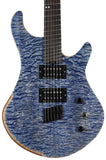 American Exotic Guitars DC-Multi, Quilted Maple and Mahogany - Humbucker Music