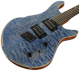 American Exotic Guitars DC-Multi, Quilted Maple and Mahogany