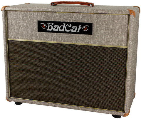 Bad Cat 1x12 Cab - Fawn Slub - Humbucker Music