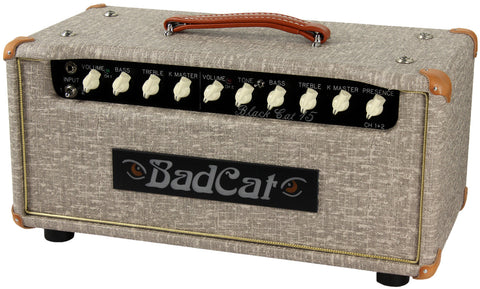 Bad Cat Black Cat 15 Head - Fawn Slub - Humbucker Music