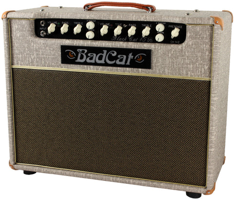 Bad Cat Black Cat 15R Reverb Combo Amp - Fawn Slub