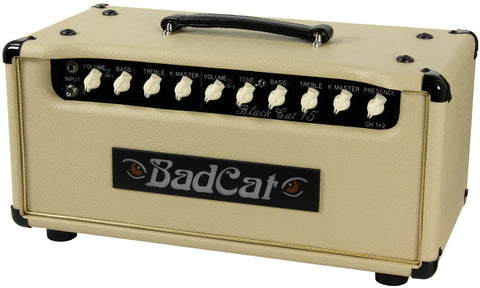 Bad Cat Black Cat 15 Head - Cream - Humbucker Music