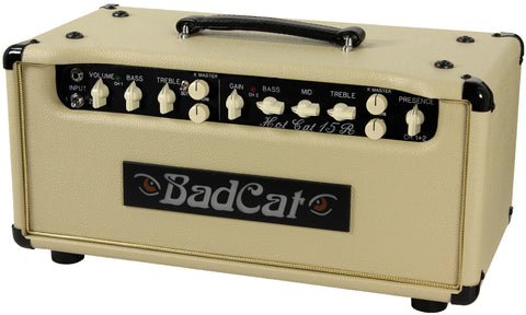 Bad Cat Hot Cat 15R Reverb Head - Cream