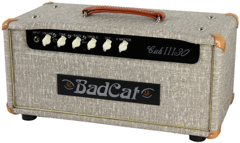 Bad Cat Cub III 30 Head - Fawn Slub - Humbucker Music