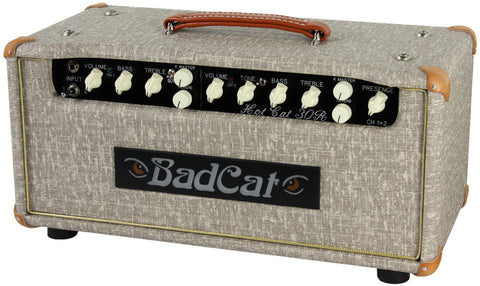Bad Cat Hot Cat 30 Reverb Head - Fawn Slub - Humbucker Music