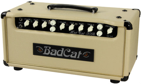 Bad Cat Hot Cat 30R Reverb Head - Cream