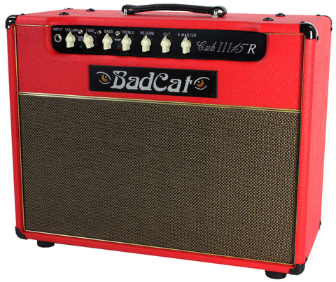 Bad Cat Cub III 15R Reverb Combo Amp - Red