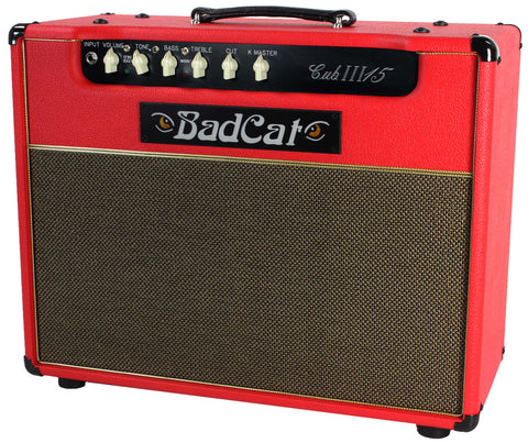 Bad Cat Cub III 15 Combo Amp - Red