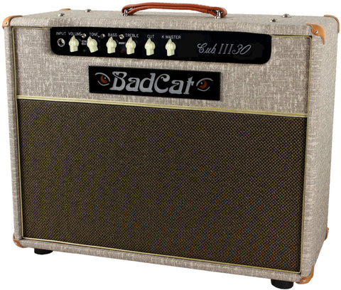 Bad Cat Cub III 30 Combo Amp - Fawn Slub - Humbucker Music