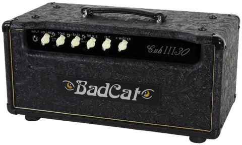 Bad Cat Cub III 30 Head - Black Western