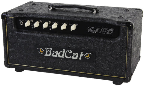 Bad Cat Cub III 15 Head - Black Western