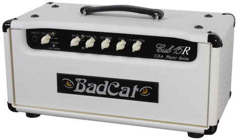 Bad Cat USA Players Cub 15R Head - White Ostrich
