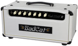 Bad Cat Cub III 15R Reverb Handwired Head - White Ostrich