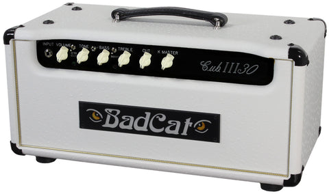 Bad Cat Cub III 30 Head - White Ostrich