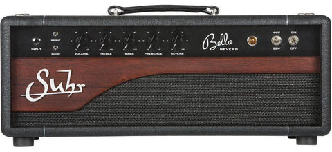 Suhr Bella Reverb Handwired Head, Mahogany