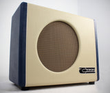 Carr Mercury V 1x12 Combo Amp - Cream / Blue