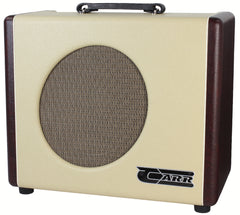 Carr Mercury V 1x12 Combo Amp - Cream / Wine