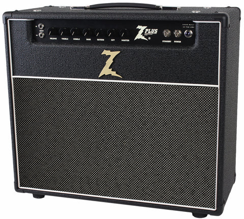 Dr. Z Z-Plus 1x12 Lite Cab Combo - Black w/ Salt Pepper
