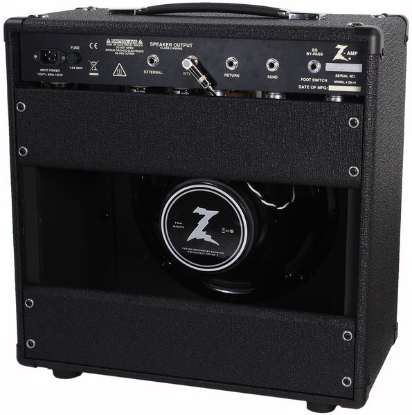 dr z cure 1x12 studio combo amplifier humbucker music. Black Bedroom Furniture Sets. Home Design Ideas