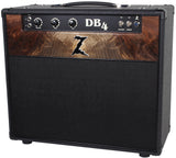Dr. Z DB4 1x12 Combo - Black - Custom Burl Walnut