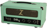Dr. Z DB4 Head in Surf Green - Tan Grill