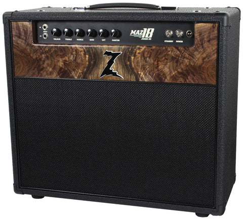 Dr. Z Maz 18 Jr NR 1x12 - Custom Burl Walnut