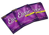 Elixir Polyweb Acoustic Extra Light Strings - .010 - .047 - 3 Sets