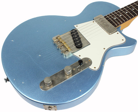 Fano SP6 Standard Guitar in Ice Blue Metallic