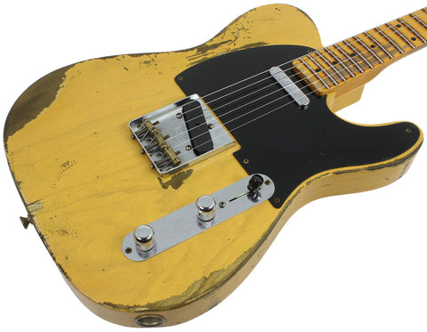 Fender Custom Shop 1953 Heavy Relic Telecaster - Butterscotch Blonde