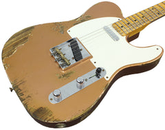 Fender Custom Shop 1953 Heavy Relic Telecaster - Aged Copper Metallic