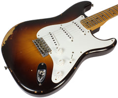 Fender Custom Shop 1955 Heavy Relic Stratocaster - Wide Fade 2-Tone Sunburst