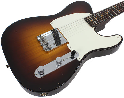 Fender Custom Shop Limited Edition Journeyman Relic '57 Esquire - 2 Tone Sunburst - Humbucker Music