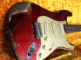 Fender Custom Shop 1959 Heavy Relic Stratocaster - Aged Candy Apple Red - NAMM
