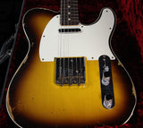Fender Custom Shop 1959 Relic Tele Custom - Faded Chocolate 3-Tone Sunburst - NAMM