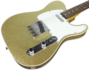 Fender Custom Shop 1960 Relic Tele Custom - Gold Sparkle - NAMM