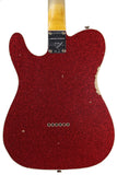Fender Custom Shop 1960 Relic Tele Custom - Red Sparkle