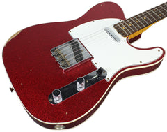 Fender Custom Shop 1960 Relic Tele Custom - Red Sparkle - NAMM