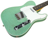 Fender Custom Shop 1960 Relic Tele Custom - Sea Foam Sparkle - NAMM