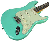 Fender Custom Shop 1963 Journeyman Relic Stratocaster - Aged Sea Foam Green - NAMM