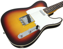 Fender Custom Shop 1963 Journeyman Relic Telecaster Custom - Chocolate 3 Tone Sunburst