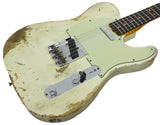 Fender Custom Shop 60s Heavy Relic Compound Radius Tele - Aged Olympic White - NAMM