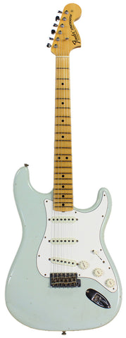 Fender Custom Shop 1969 Journeyman Relic Stratocaster - Faded Aged Sonic Blue
