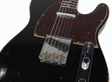 Fender Custom Shop 1961 Relic Telecaster - Aged Black - 2017 Collection