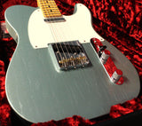 Fender Custom Shop Lush Closet Classic Postmodern Telecaster - Faded Firemist Silver